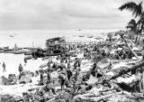 6th Regiment lands on the west beach of Tarawa.